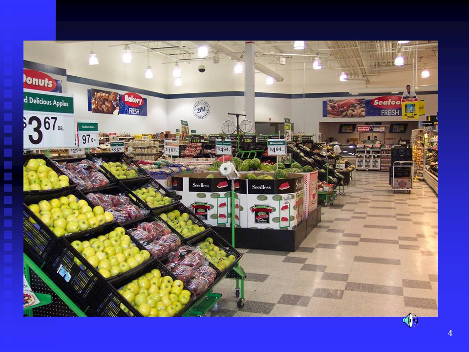Retail stores have an abundance of various fruits and vegetables