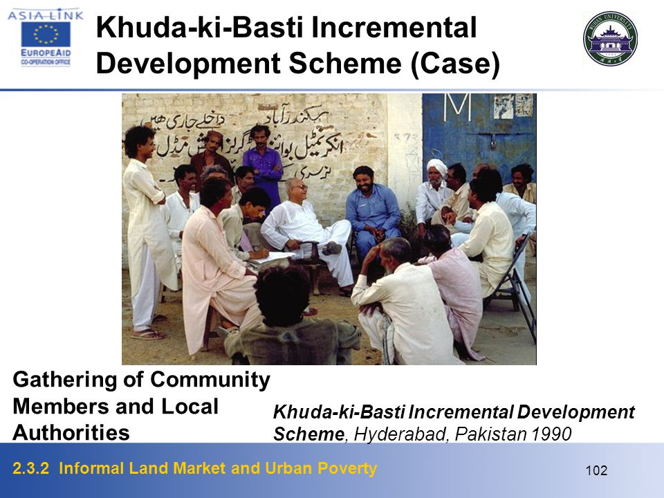 Khuda-ki-Basti Incremental Development Scheme (Case)
