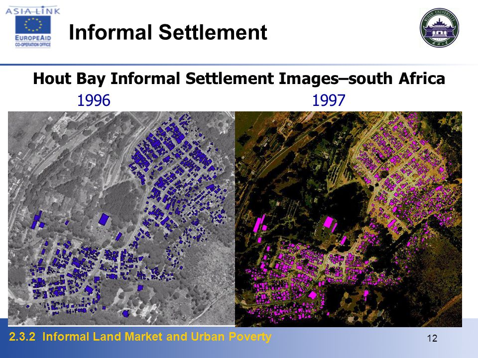 Hout Bay Informal Settlement Images–south Africa