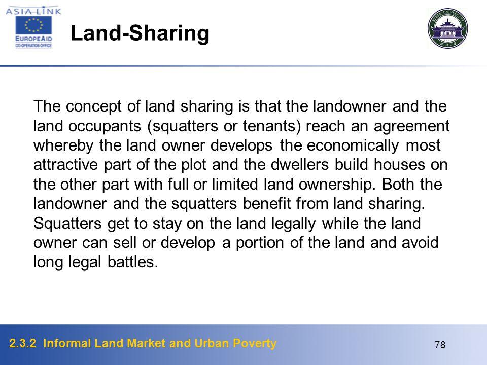 Land-Sharing