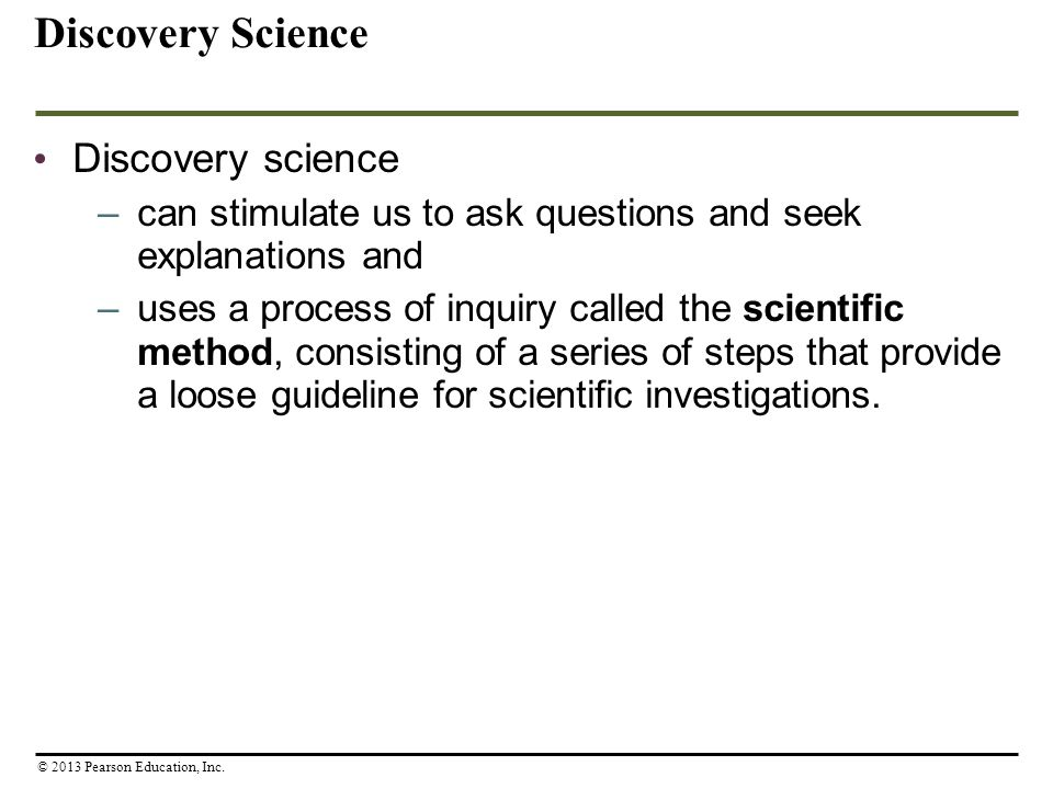 Discovery Science Discovery science