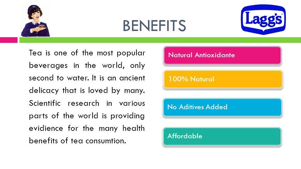 BENEFITS Natural Antioxidante. 100% Natural. No Aditives Added. Affordable.