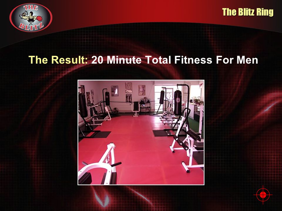 The Result: 20 Minute Total Fitness For Men