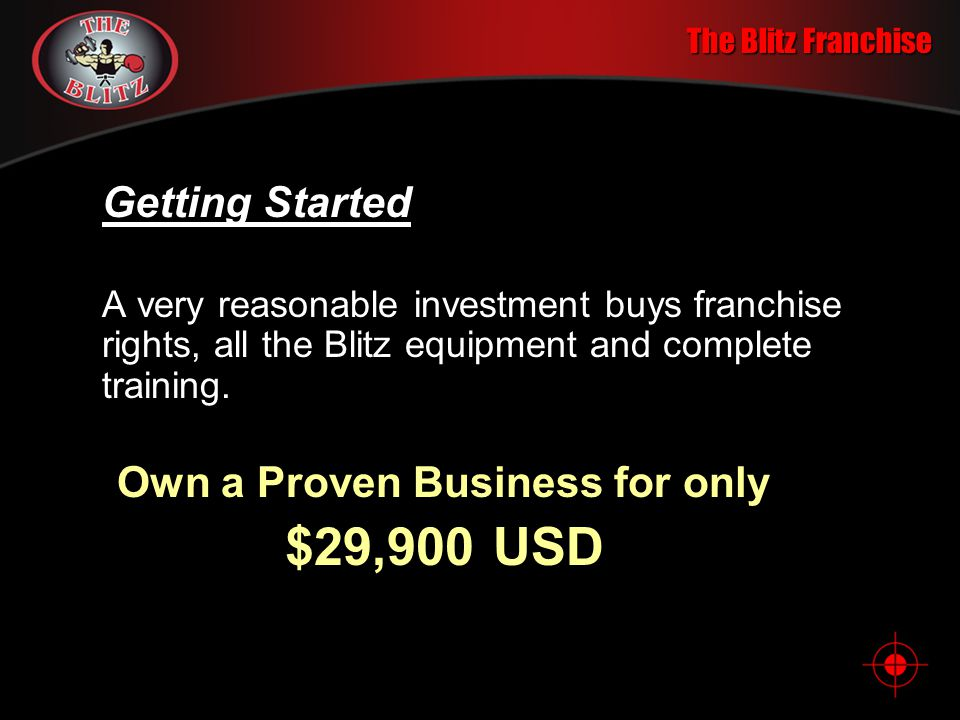 Own a Proven Business for only