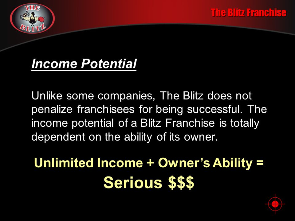 Unlimited Income + Owner's Ability =