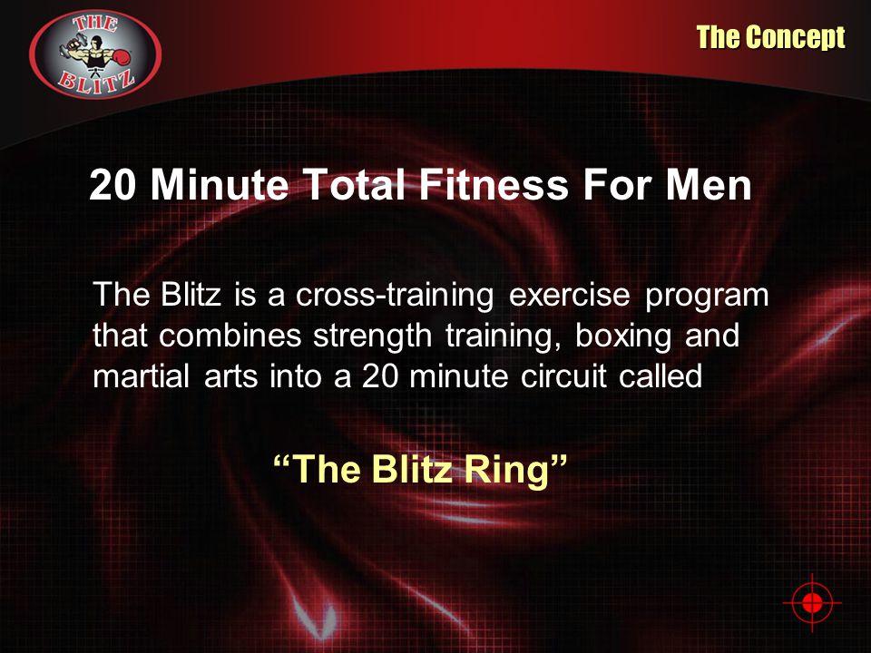20 Minute Total Fitness For Men