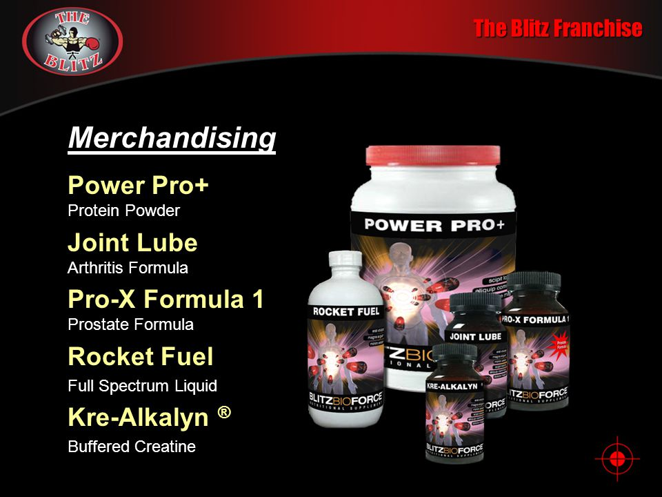 Merchandising Power Pro+ Protein Powder Joint Lube Arthritis Formula