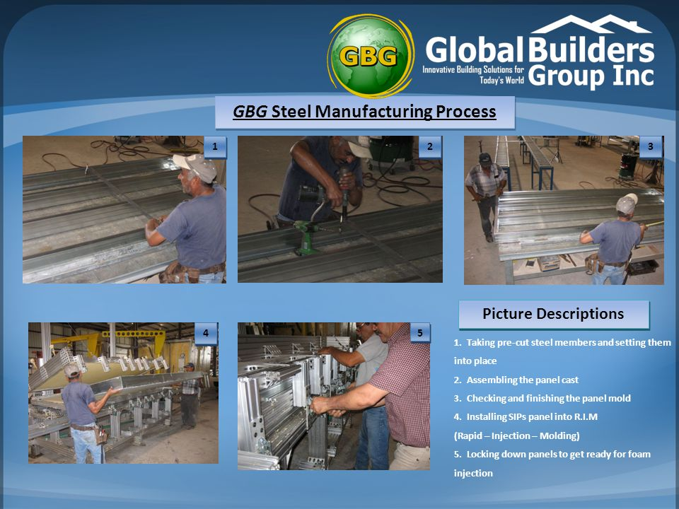 GBG Steel Manufacturing Process