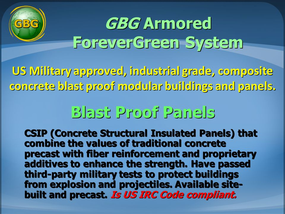 GBG Armored ForeverGreen System