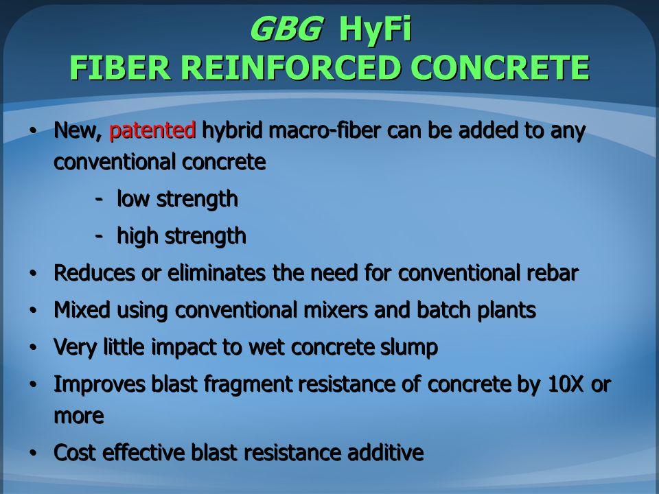 GBG HyFi FIBER REINFORCED CONCRETE