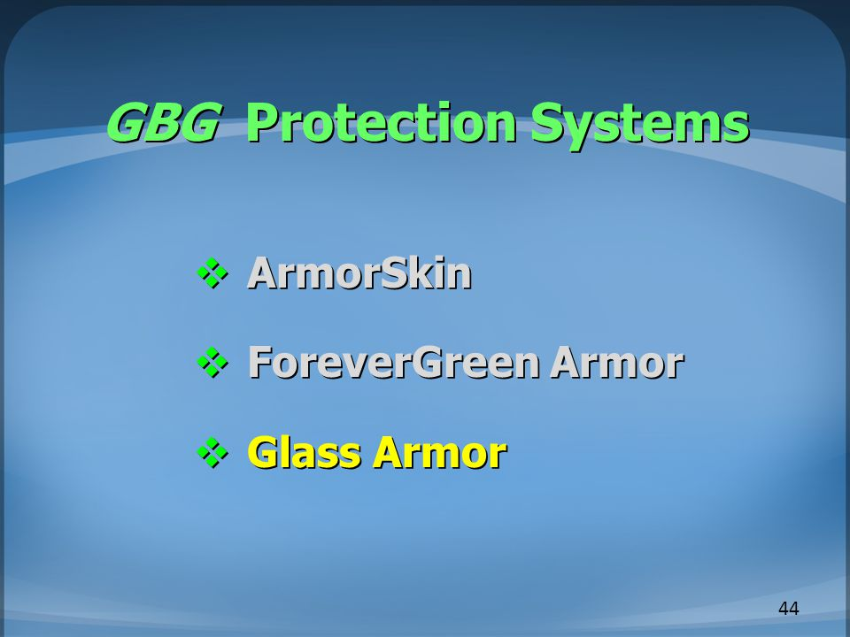 GBG Protection Systems