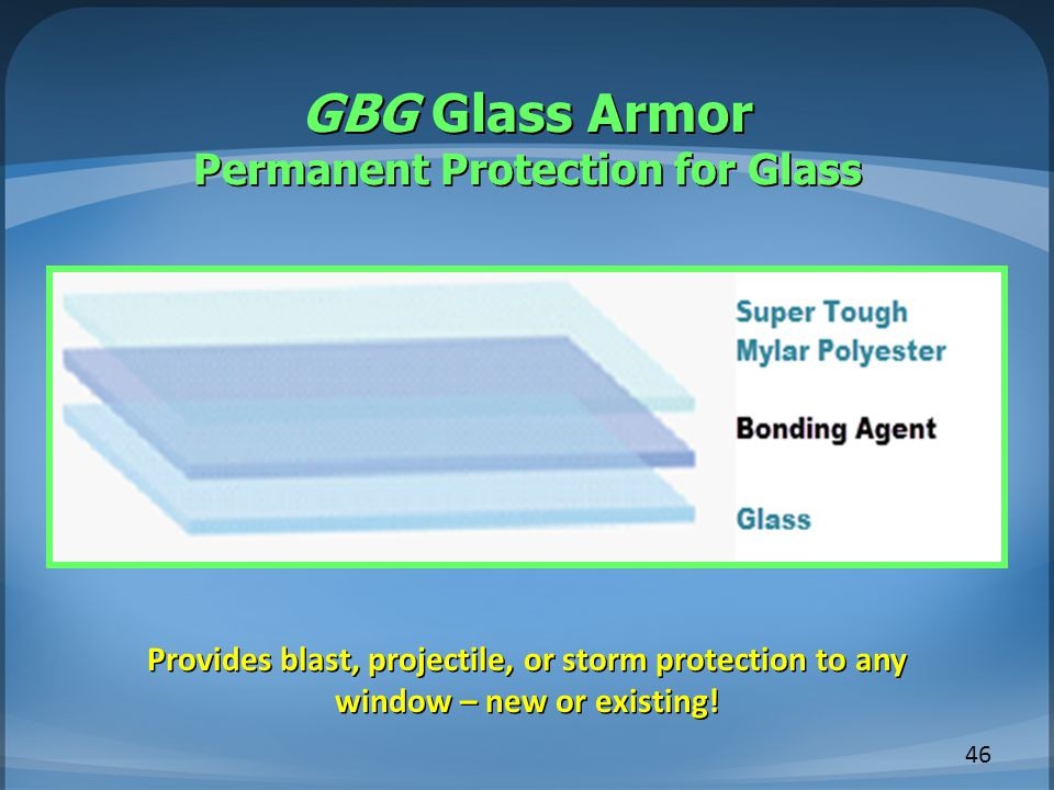 GBG Glass Armor Permanent Protection for Glass