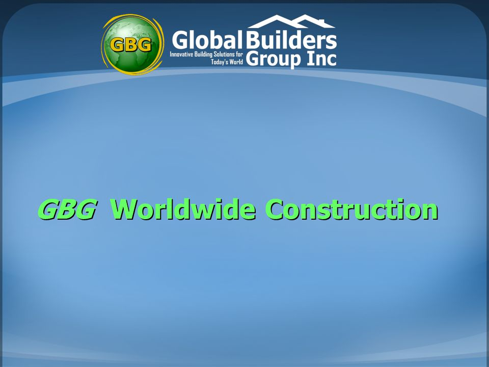 GBG Worldwide Construction