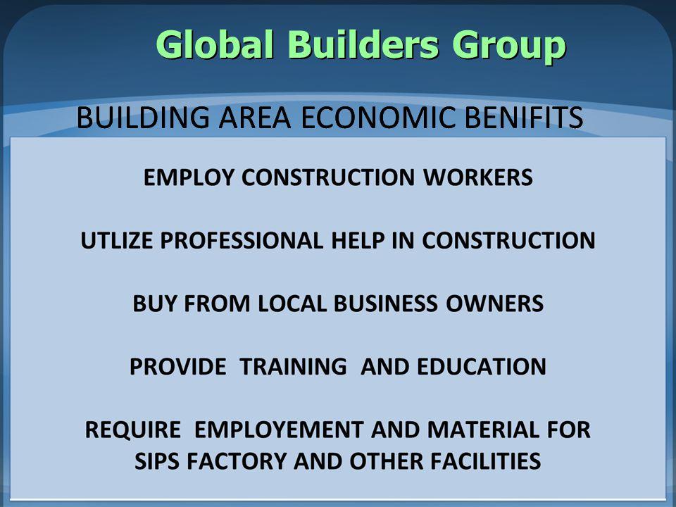 BUILDING AREA ECONOMIC BENIFITS