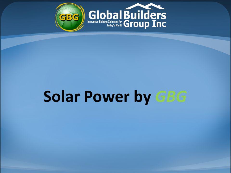 Solar Power by GBG