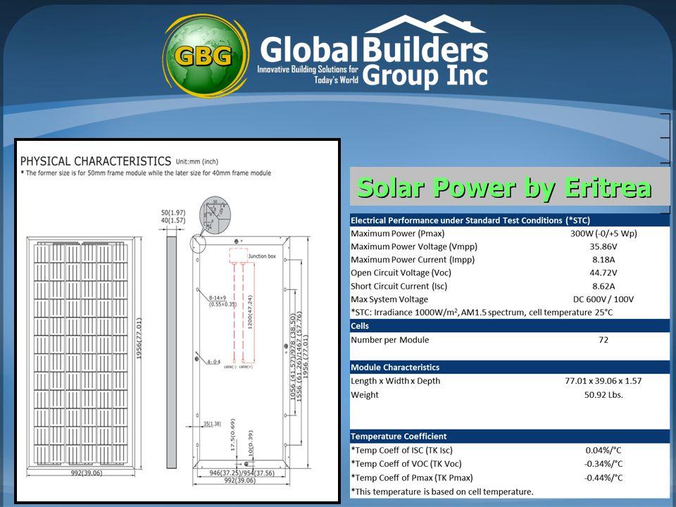 Solar Power by IPC Solar Power by Eritrea