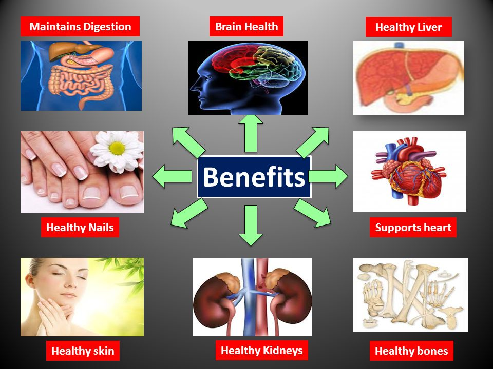 Benefits Maintains Digestion Brain Health Healthy Liver Healthy Nails