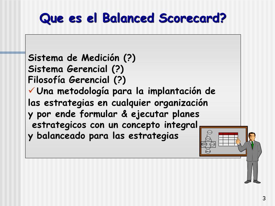 Que es el Balanced Scorecard