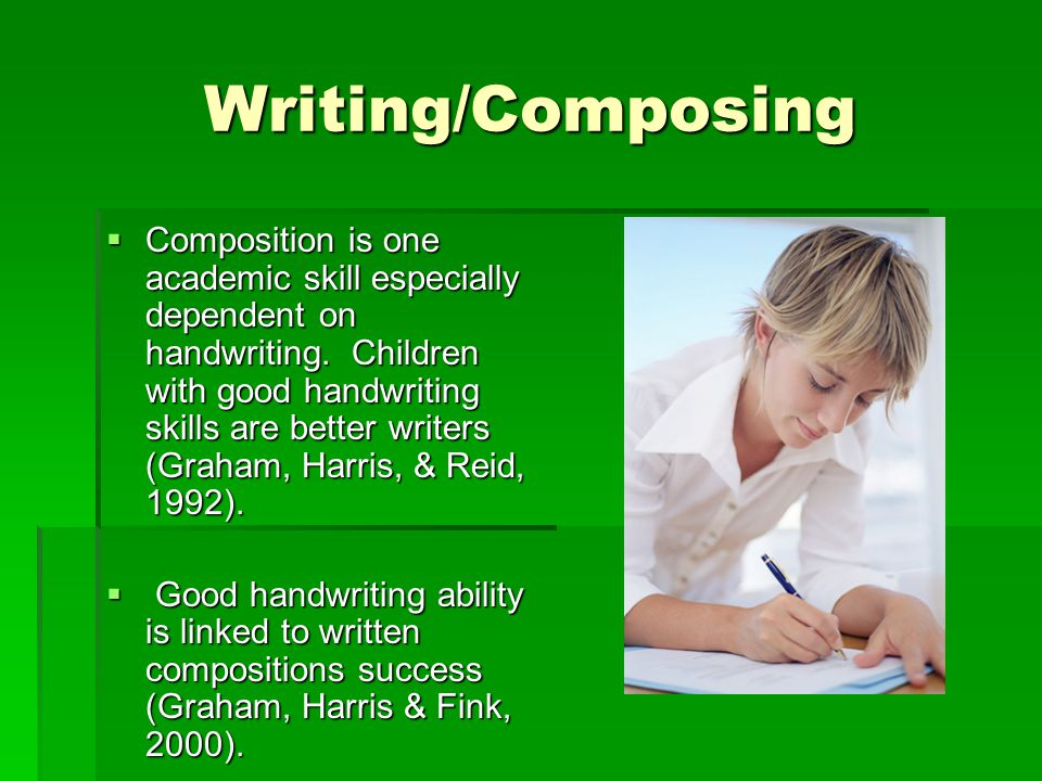 Writing/Composing