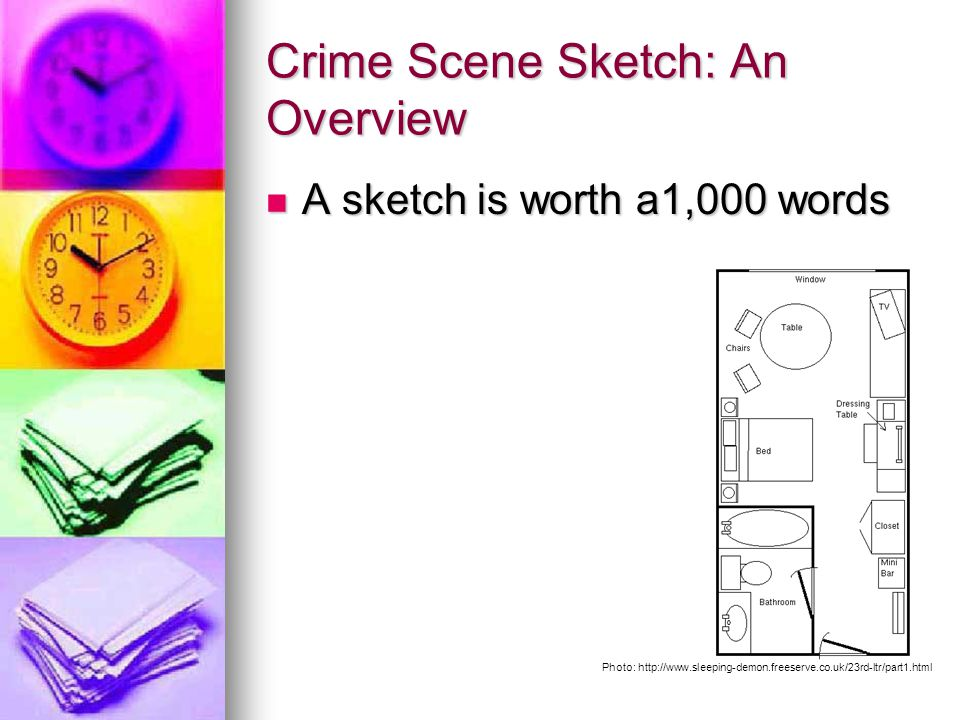 Crime Scene Sketch: An Overview