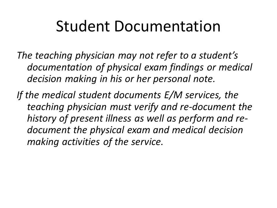 Student Documentation