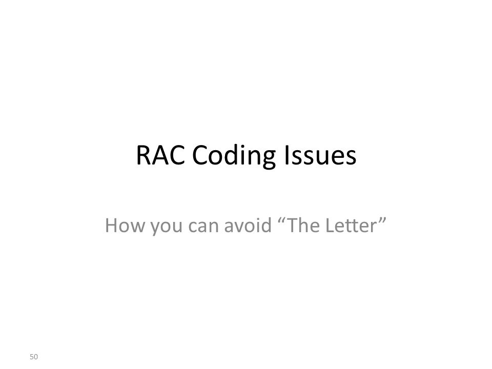 How you can avoid The Letter