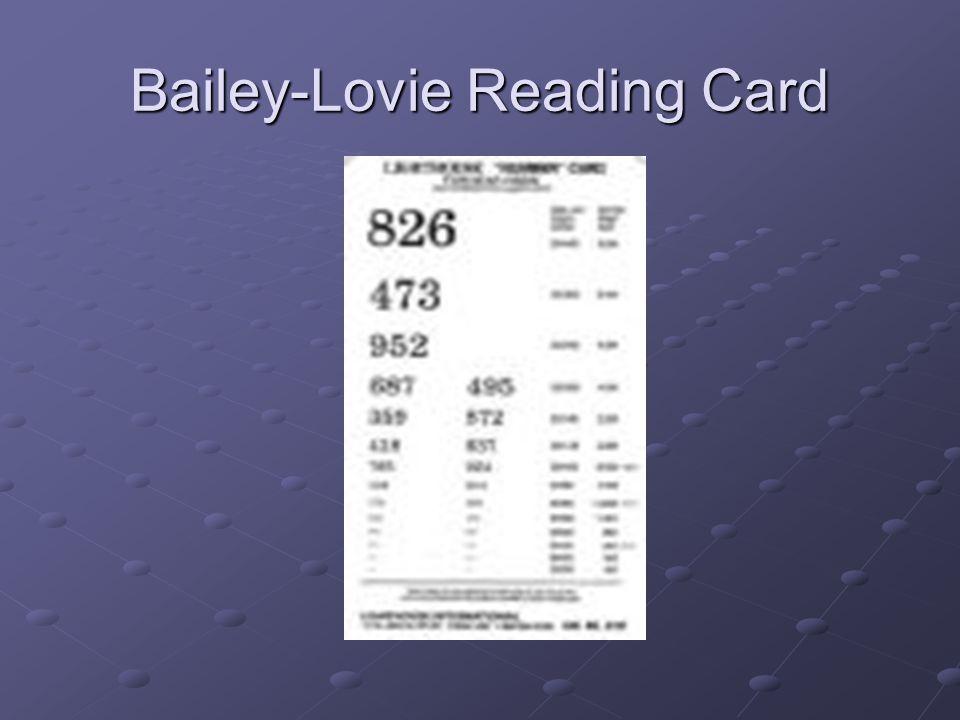Bailey-Lovie Reading Card