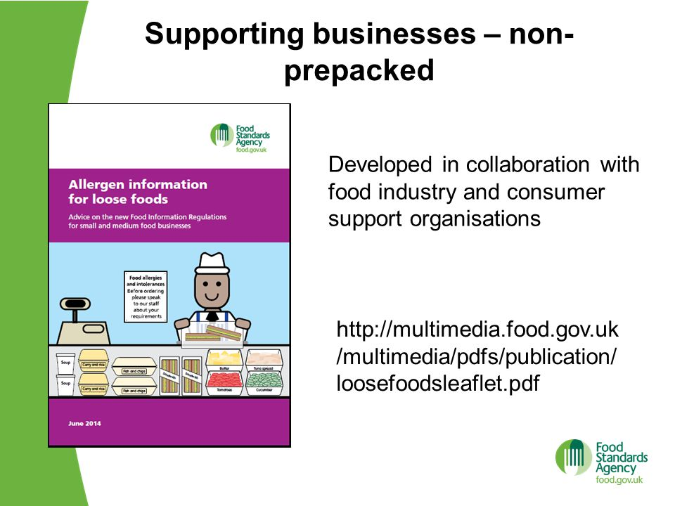 Supporting businesses – non-prepacked