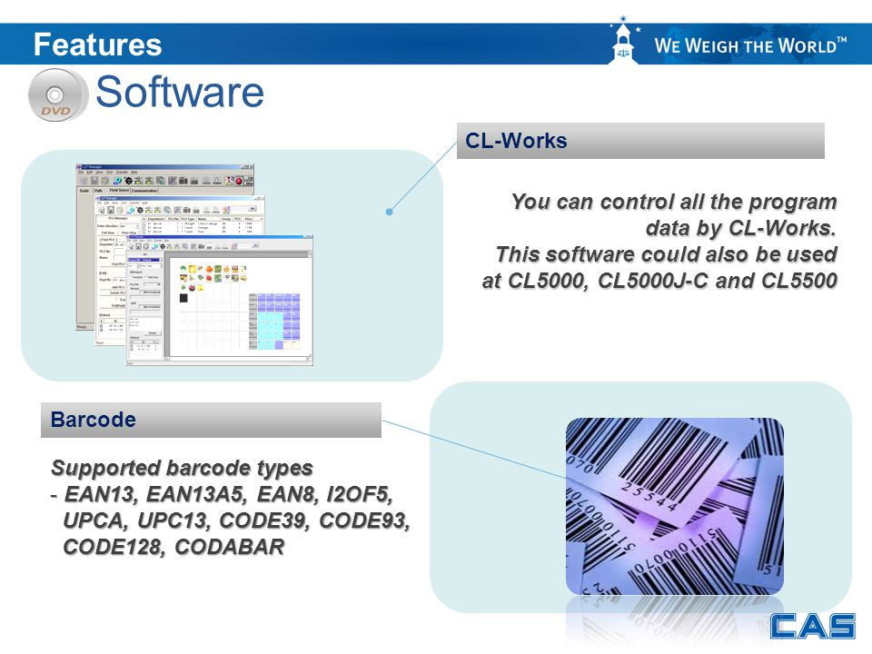 Software Features CL-Works