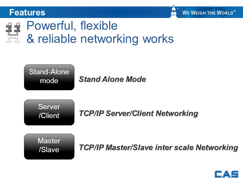 & reliable networking works