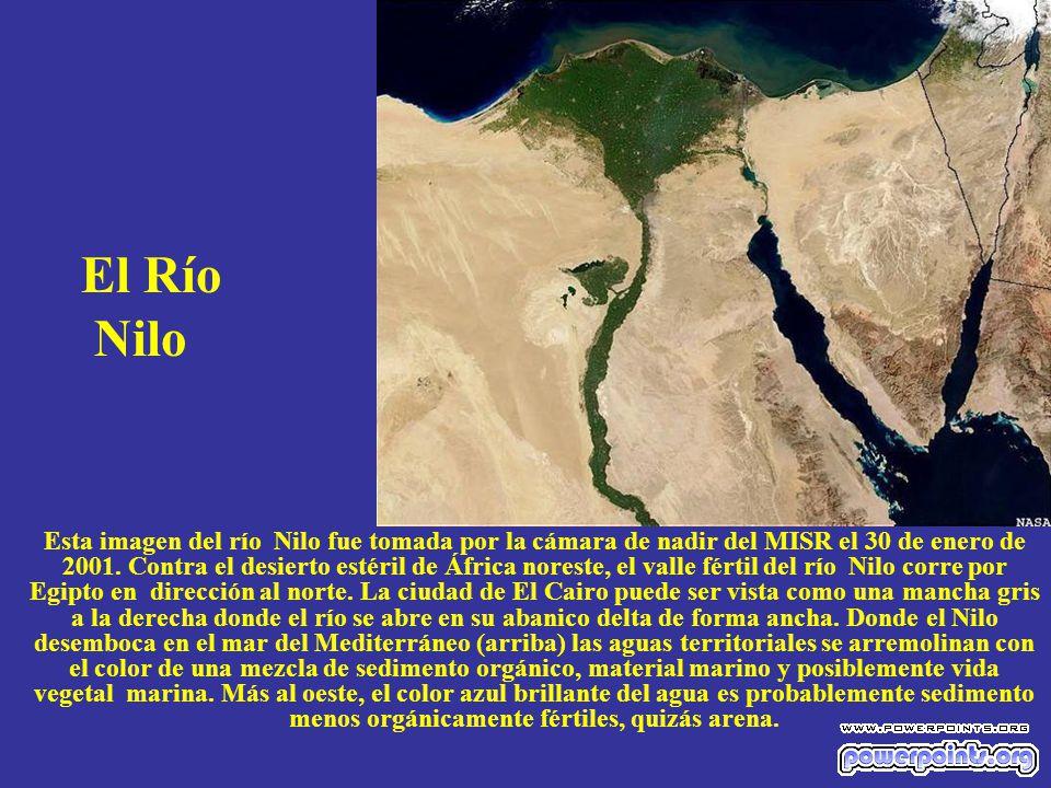 El Río Nilo.
