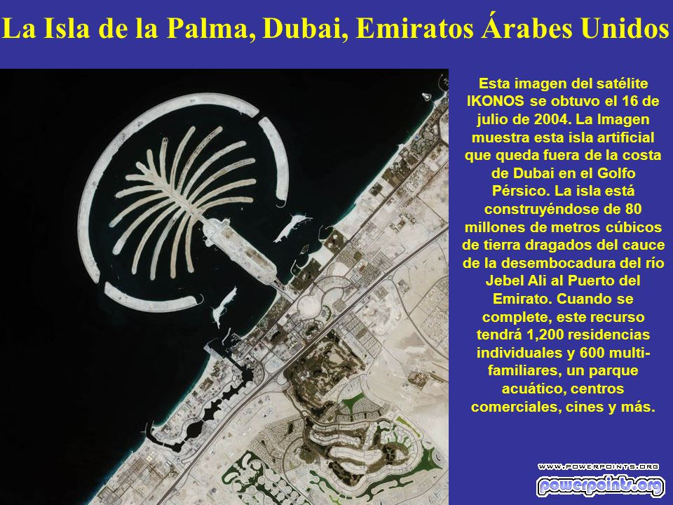 La Isla de la Palma, Dubai, Emiratos Árabes Unidos