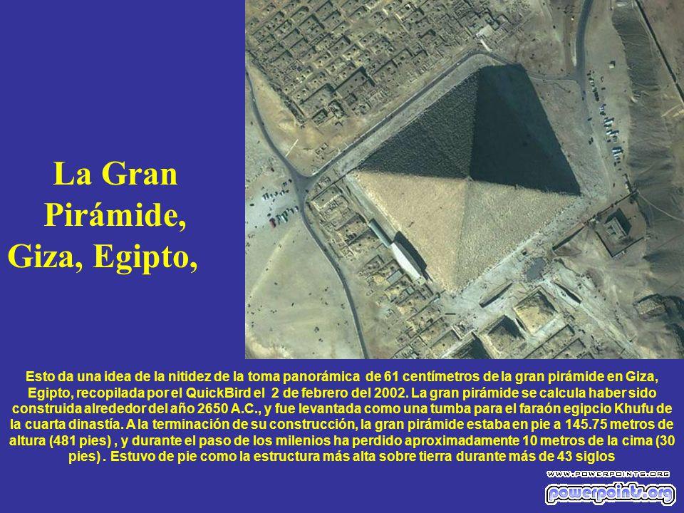 La Gran Pirámide, Giza, Egipto,