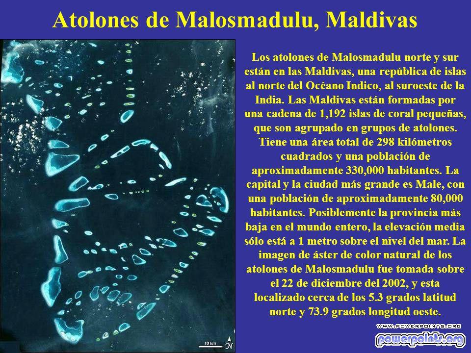 Atolones de Malosmadulu, Maldivas