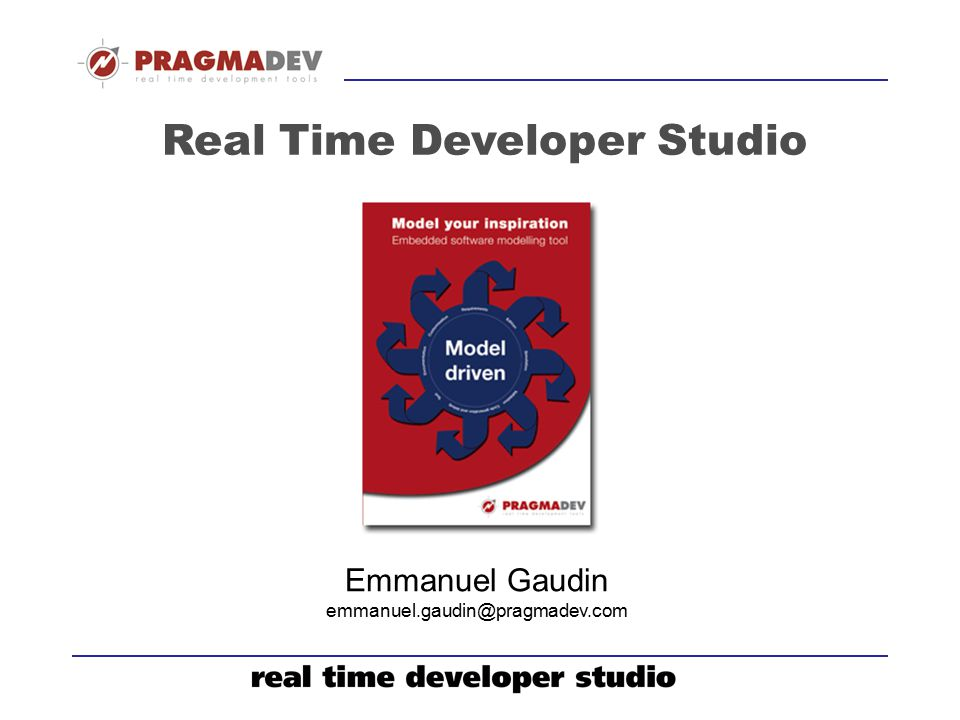 Real Time Developer Studio