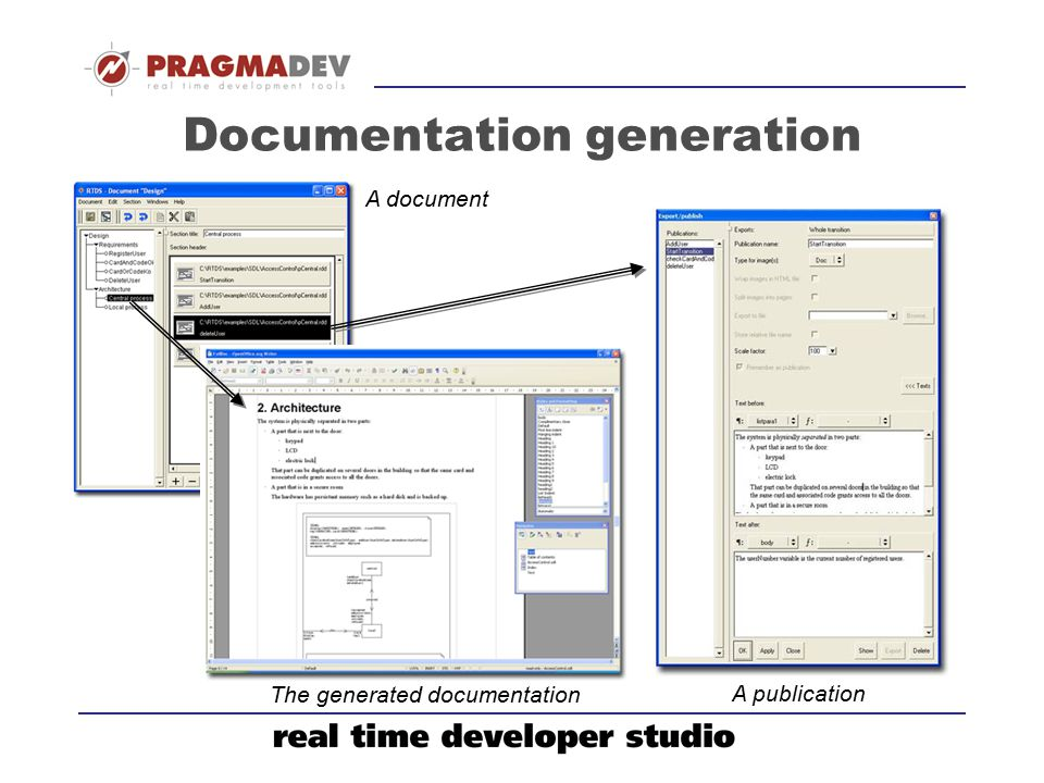 Documentation generation
