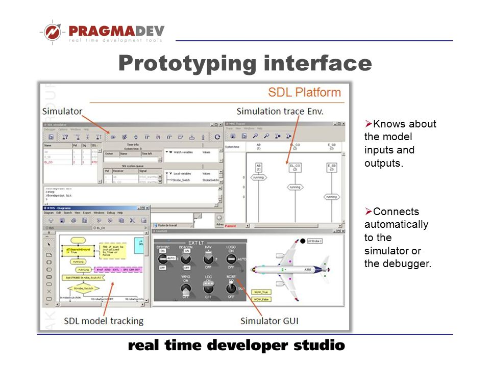 Prototyping interface