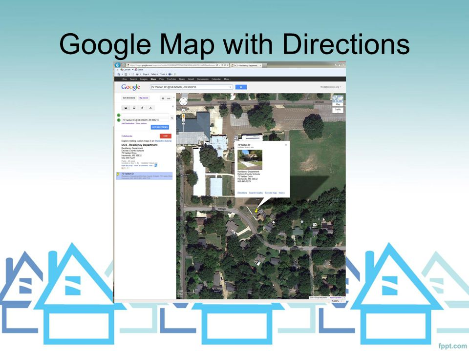Google Map with Directions