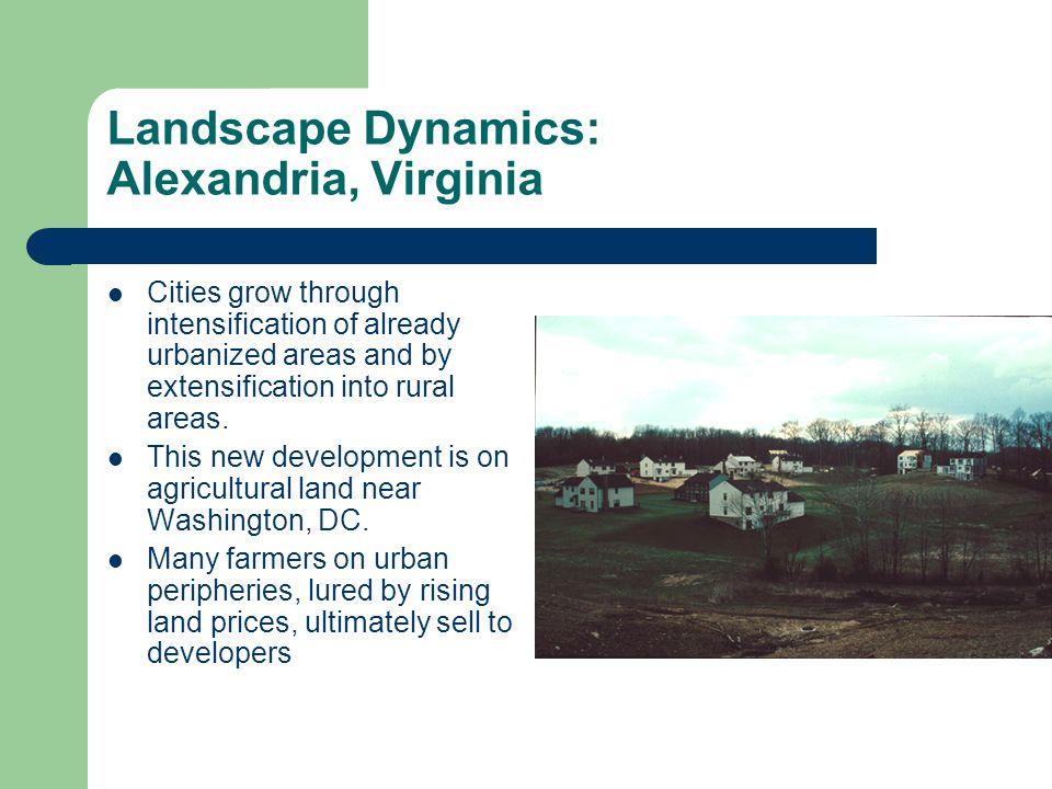 Landscape Dynamics: Alexandria, Virginia
