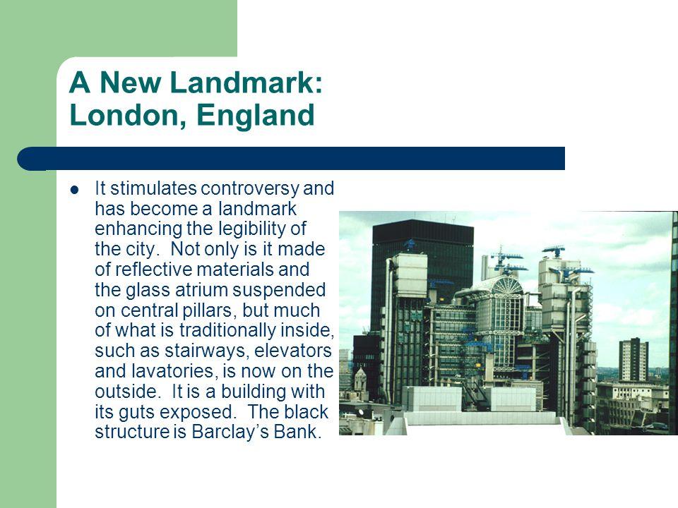 A New Landmark: London, England