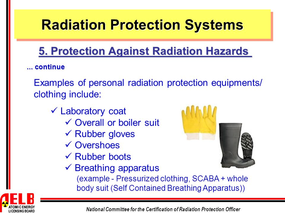 Radiation Protection Systems