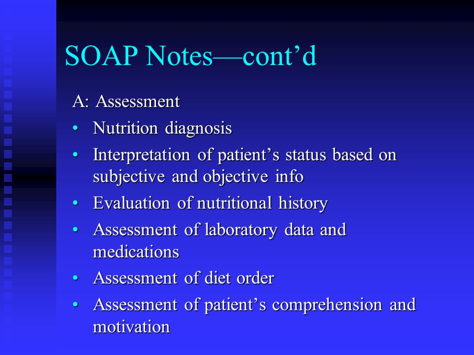The Medical Record And Documentation Of Nutrition Care  Ppt Video
