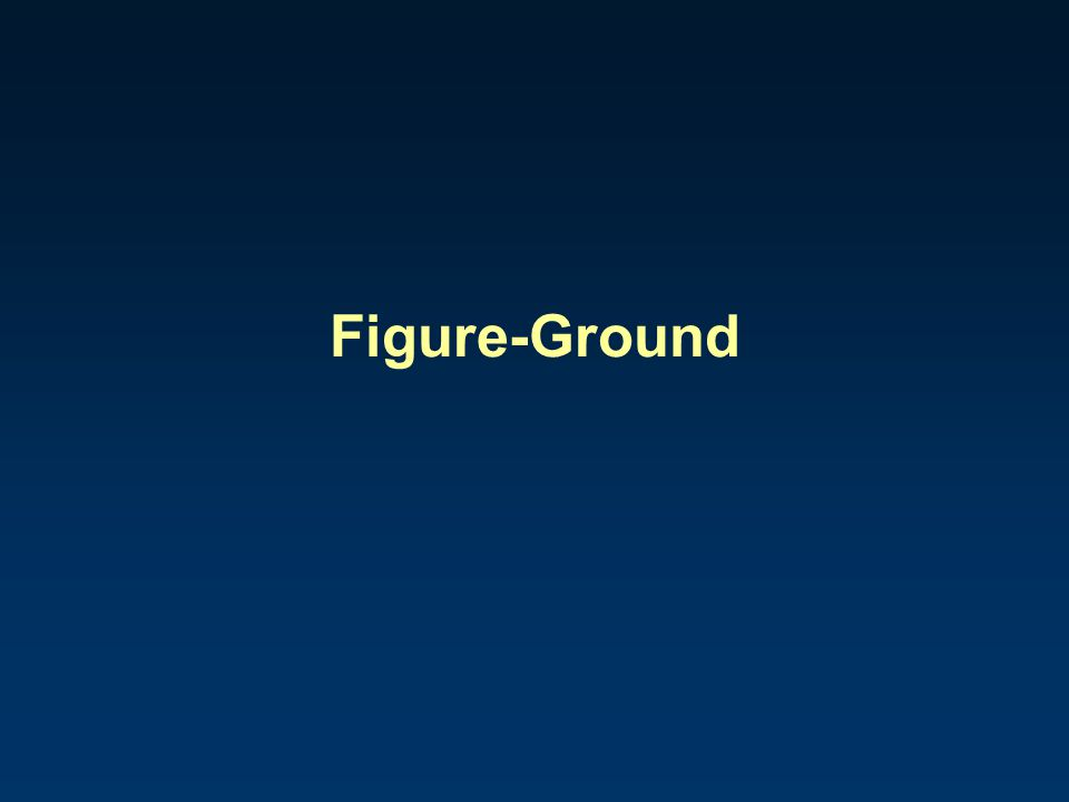 Figure-Ground
