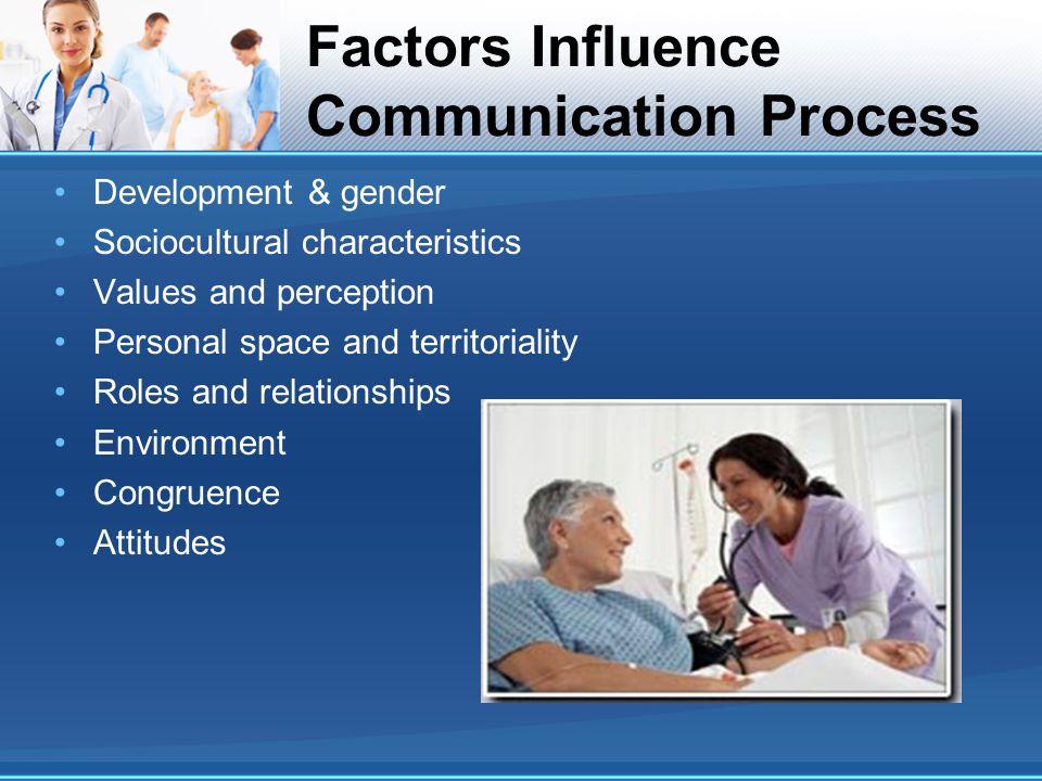 Factors Influence Communication Process