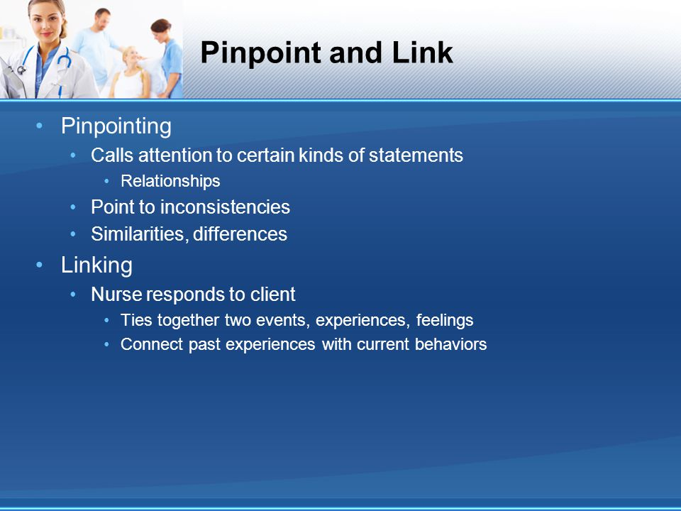 Pinpoint and Link Pinpointing Linking