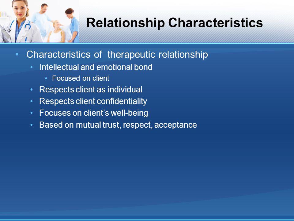 Relationship Characteristics