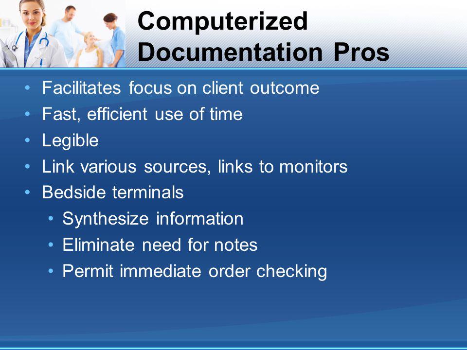 Computerized Documentation Pros