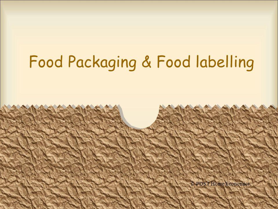 Food Packaging & Food labelling