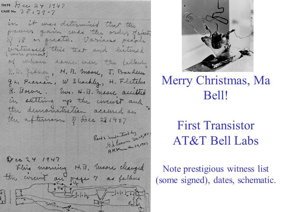 Merry Christmas, Ma Bell