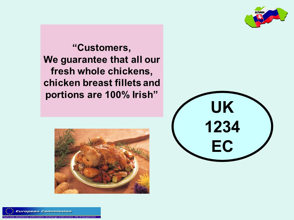 We guarantee that all our chicken breast fillets and